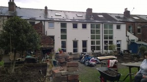 Low impact extension at Fireside Housing Co-op